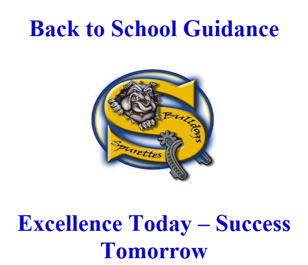 Back to School Guidance 2020-2021