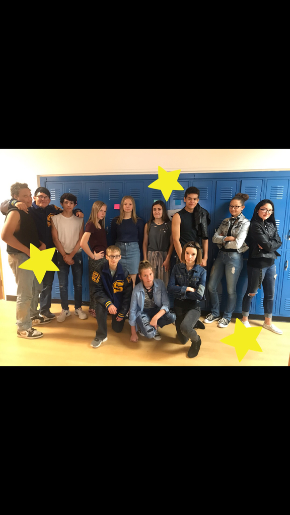 8th grade Greasers and Socs!