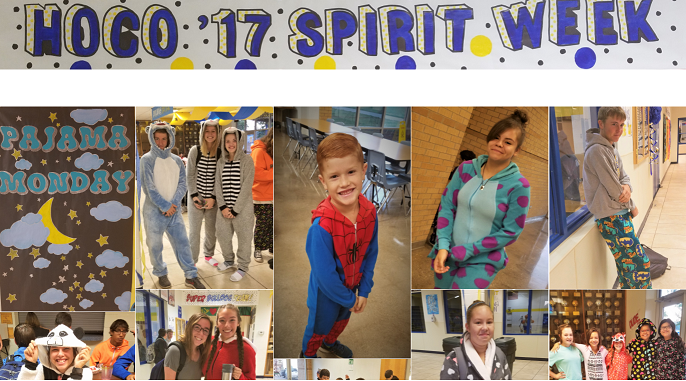 HOCO '17 Spirit Week