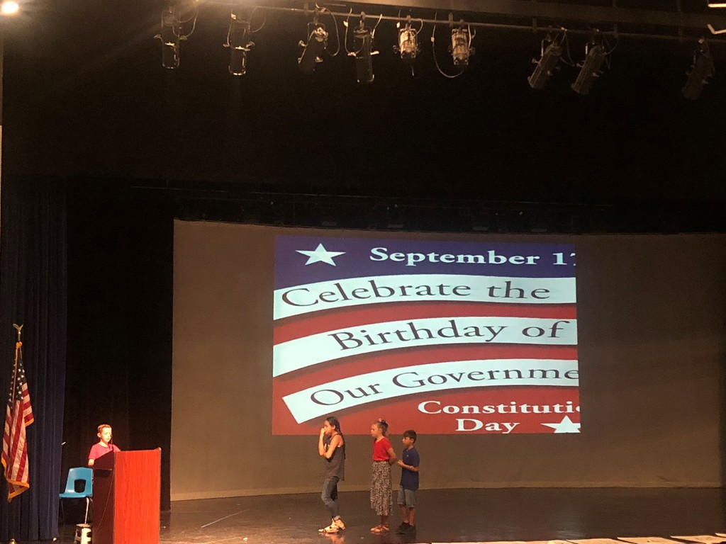 Constitution Day Program