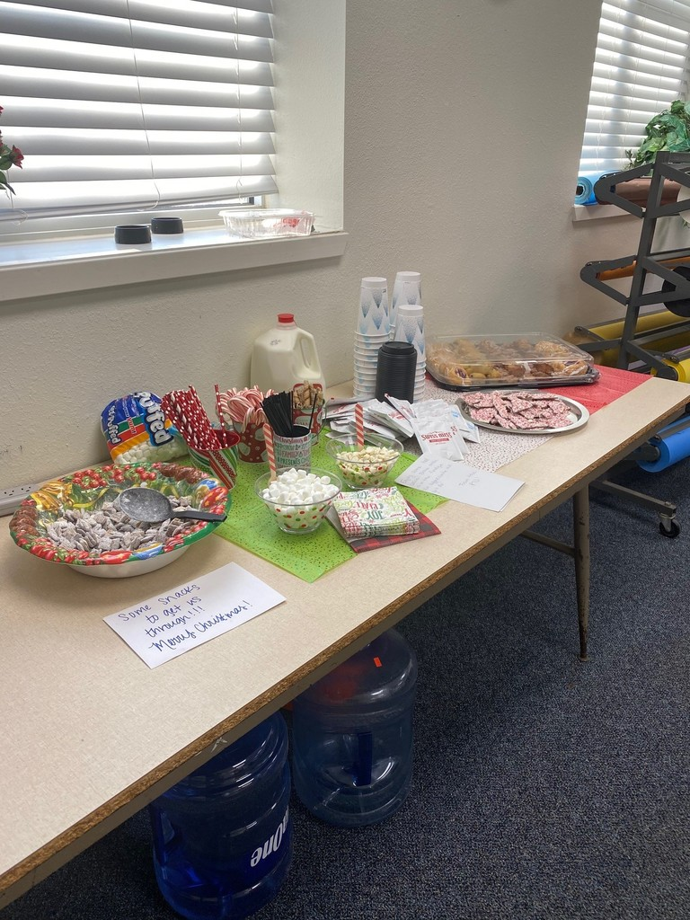 PTO Christmas Hot Chocolate Bar